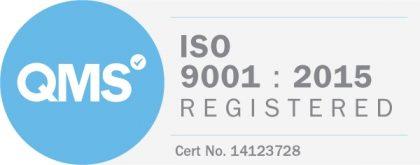 QMS ISO 9001 2015 Logo